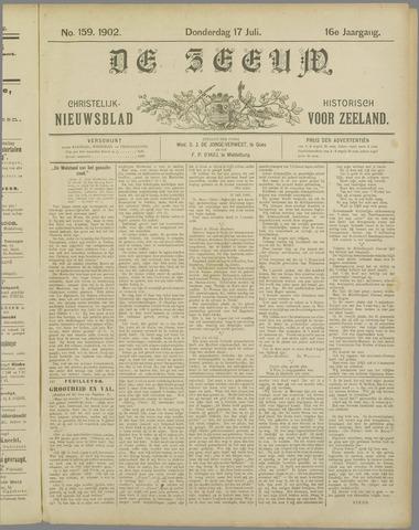 De Zeeuw. Christelijk-historisch nieuwsblad voor Zeeland 1902-07-17