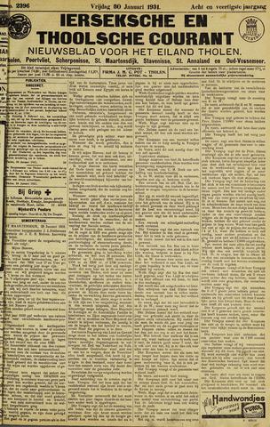 Ierseksche en Thoolsche Courant 1931-01-30