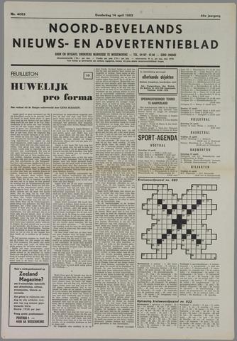 Noord-Bevelands Nieuws- en advertentieblad 1983-04-14