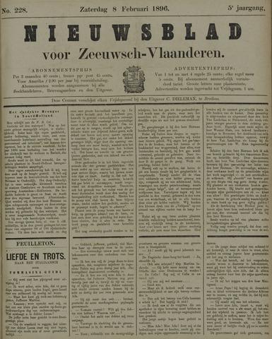 Nieuwsblad voor Zeeuwsch-Vlaanderen 1896-02-08