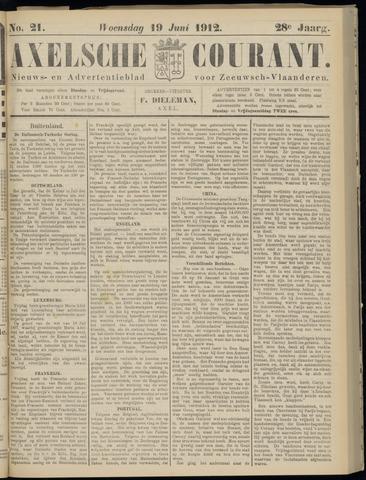 Axelsche Courant 1912-06-19