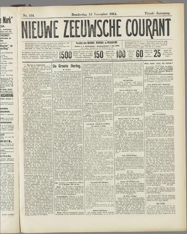 Nieuwe Zeeuwsche Courant 1914-11-12