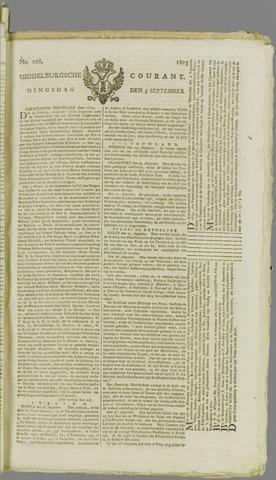 Middelburgsche Courant 1805-09-03