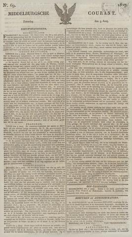 Middelburgsche Courant 1827-06-09