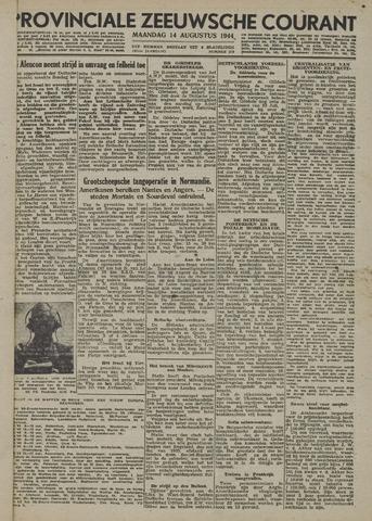 Provinciale Zeeuwse Courant 1944-08-14
