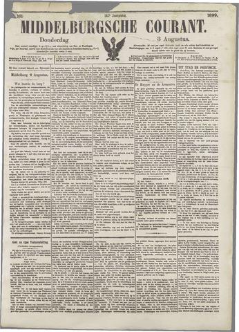 Middelburgsche Courant 1899-08-03