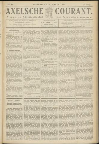 Axelsche Courant 1927-09-09