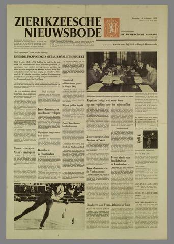 Zierikzeesche Nieuwsbode 1972-02-14