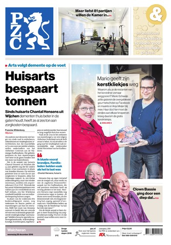 Provinciale Zeeuwse Courant 2016-12-28