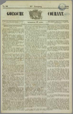 Goessche Courant 1856-04-17
