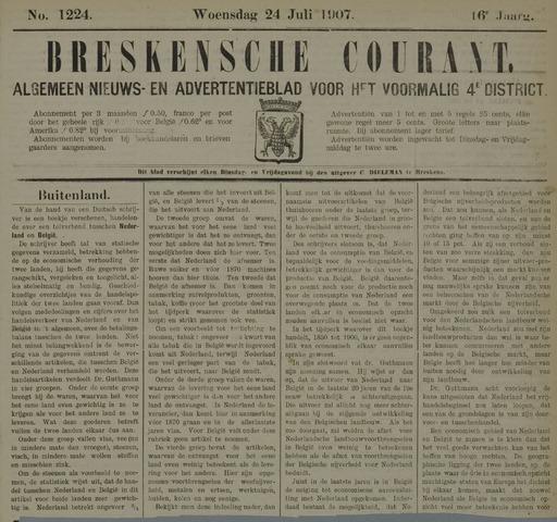 Breskensche Courant 1907-07-24