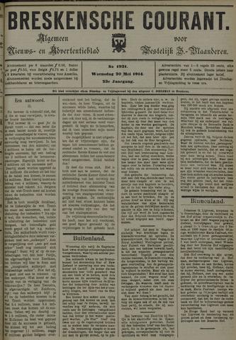 Breskensche Courant 1914-05-20