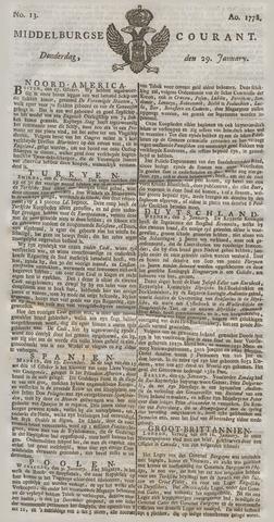 Middelburgsche Courant 1778-01-29