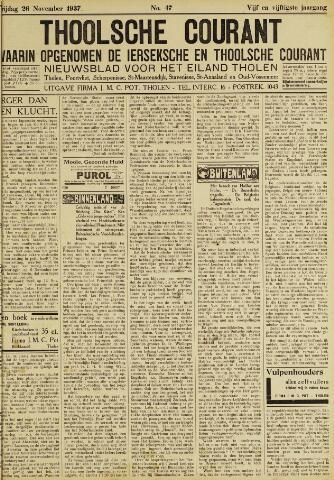 Ierseksche en Thoolsche Courant 1937-11-26