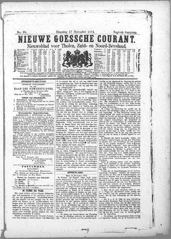 Nieuwe Goessche Courant 1874-11-17