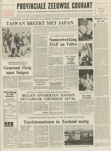 Provinciale Zeeuwse Courant 1972-09-30