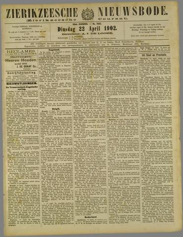 Zierikzeesche Nieuwsbode 1902-04-22