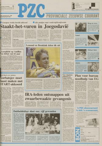 Provinciale Zeeuwse Courant 1991-07-08