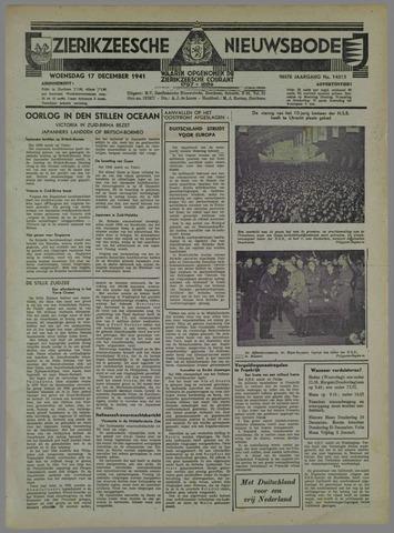 Zierikzeesche Nieuwsbode 1941-11-18