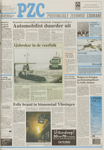 Provinciale Zeeuwse Courant 1997-01-11