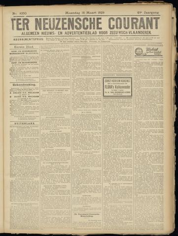 Ter Neuzensche Courant. Algemeen Nieuws- en Advertentieblad voor Zeeuwsch-Vlaanderen / Neuzensche Courant ... (idem) / (Algemeen) nieuws en advertentieblad voor Zeeuwsch-Vlaanderen 1929-03-18