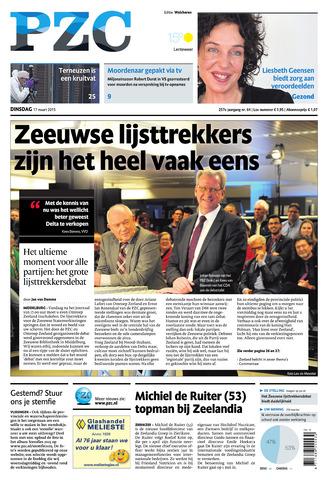 Provinciale Zeeuwse Courant 2015-03-17