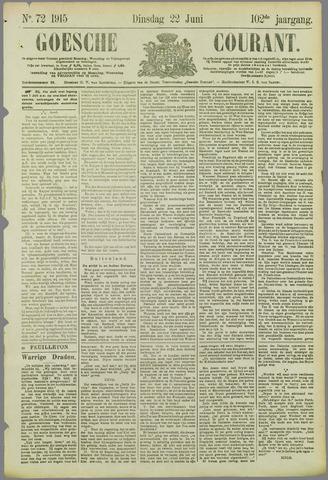 Goessche Courant 1915-06-22