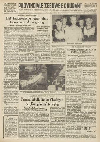 Provinciale Zeeuwse Courant 1952-10-20