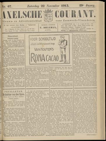 Axelsche Courant 1913-11-22