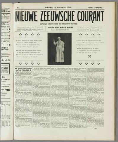 Nieuwe Zeeuwsche Courant 1908-09-19