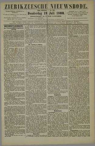 Zierikzeesche Nieuwsbode 1900-07-19