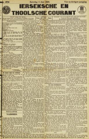 Ierseksche en Thoolsche Courant 1918-06-01