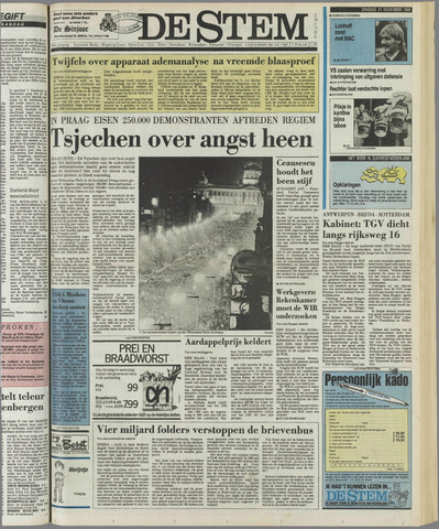 de Stem 1989-11-21