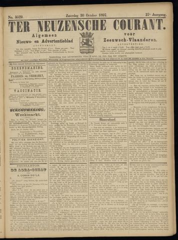 Ter Neuzensche Courant. Algemeen Nieuws- en Advertentieblad voor Zeeuwsch-Vlaanderen / Neuzensche Courant ... (idem) / (Algemeen) nieuws en advertentieblad voor Zeeuwsch-Vlaanderen 1897-10-30