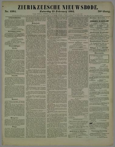 Zierikzeesche Nieuwsbode 1882-02-25