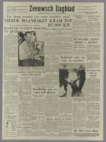 Zeeuwsch Dagblad 1958-12-08
