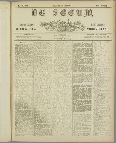 De Zeeuw. Christelijk-historisch nieuwsblad voor Zeeland 1896-12-31