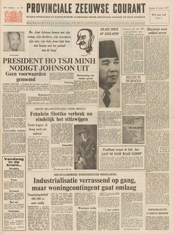 Provinciale Zeeuwse Courant 1967-01-24