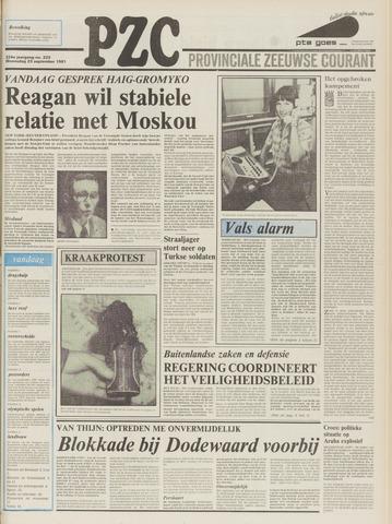 Provinciale Zeeuwse Courant 1981-09-23