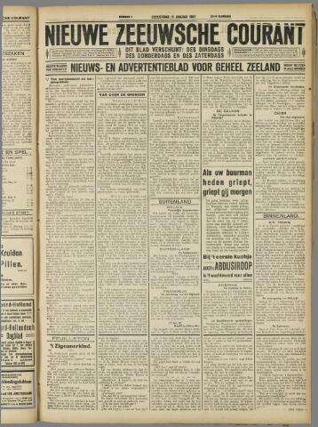 Nieuwe Zeeuwsche Courant 1927-01-13