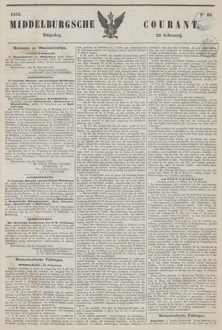 Middelburgsche Courant 1853-02-22