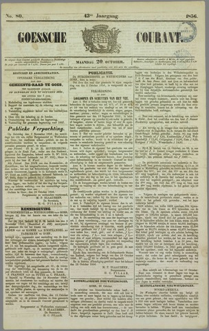Goessche Courant 1856-10-20