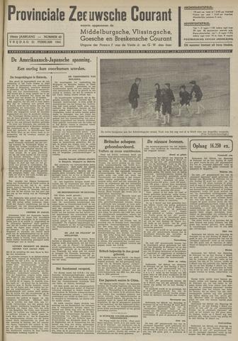 Provinciale Zeeuwse Courant 1941-02-21