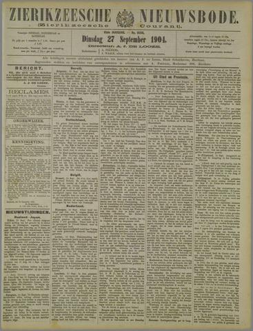 Zierikzeesche Nieuwsbode 1904-09-27