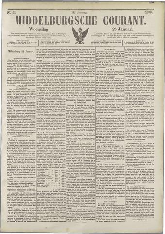 Middelburgsche Courant 1899-01-25