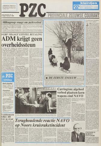 Provinciale Zeeuwse Courant 1985-01-04