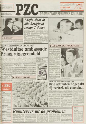 Provinciale Zeeuwse Courant 1984-10-08