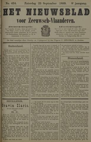 Nieuwsblad voor Zeeuwsch-Vlaanderen 1899-09-23
