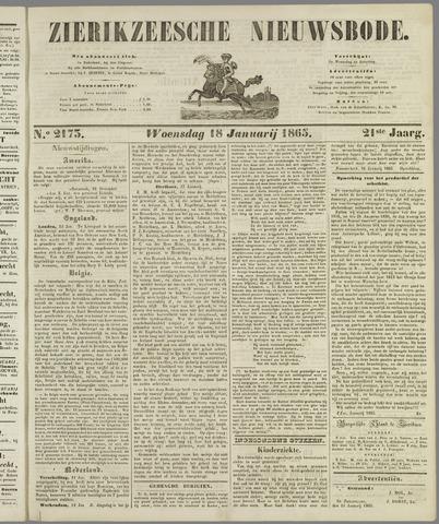 Zierikzeesche Nieuwsbode 1865-01-18