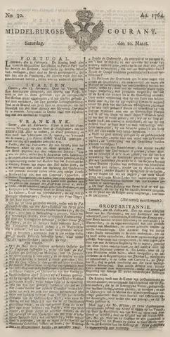 Middelburgsche Courant 1764-03-10